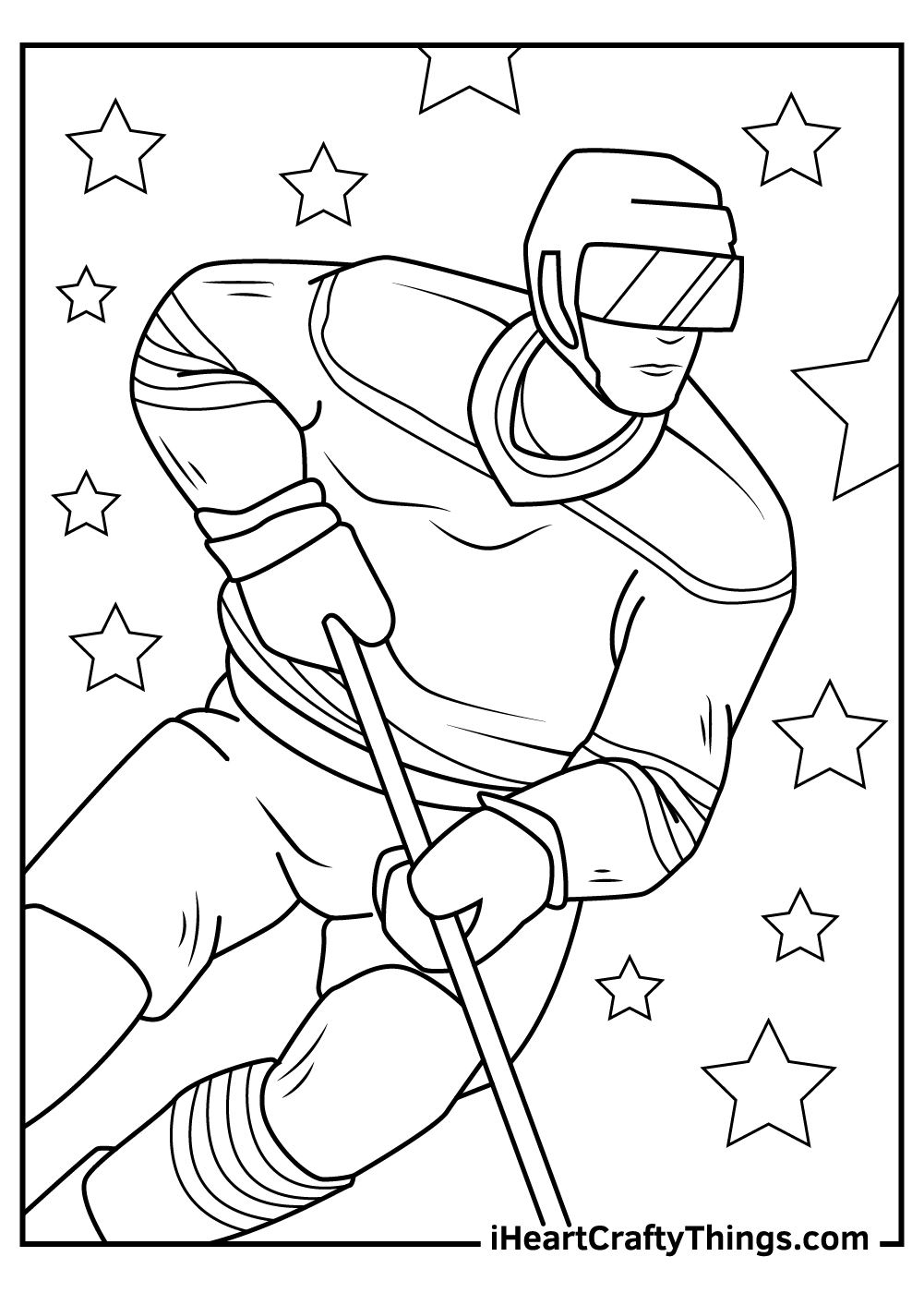 nhl coloring pages teams