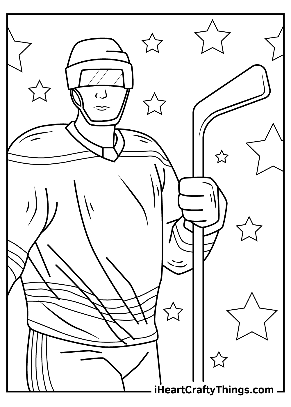 nhl stars coloring pages free download