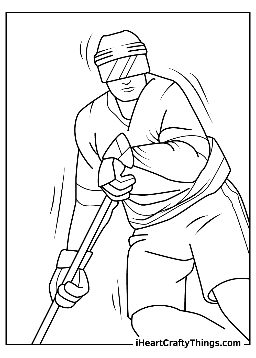 free nhl coloring pages printables