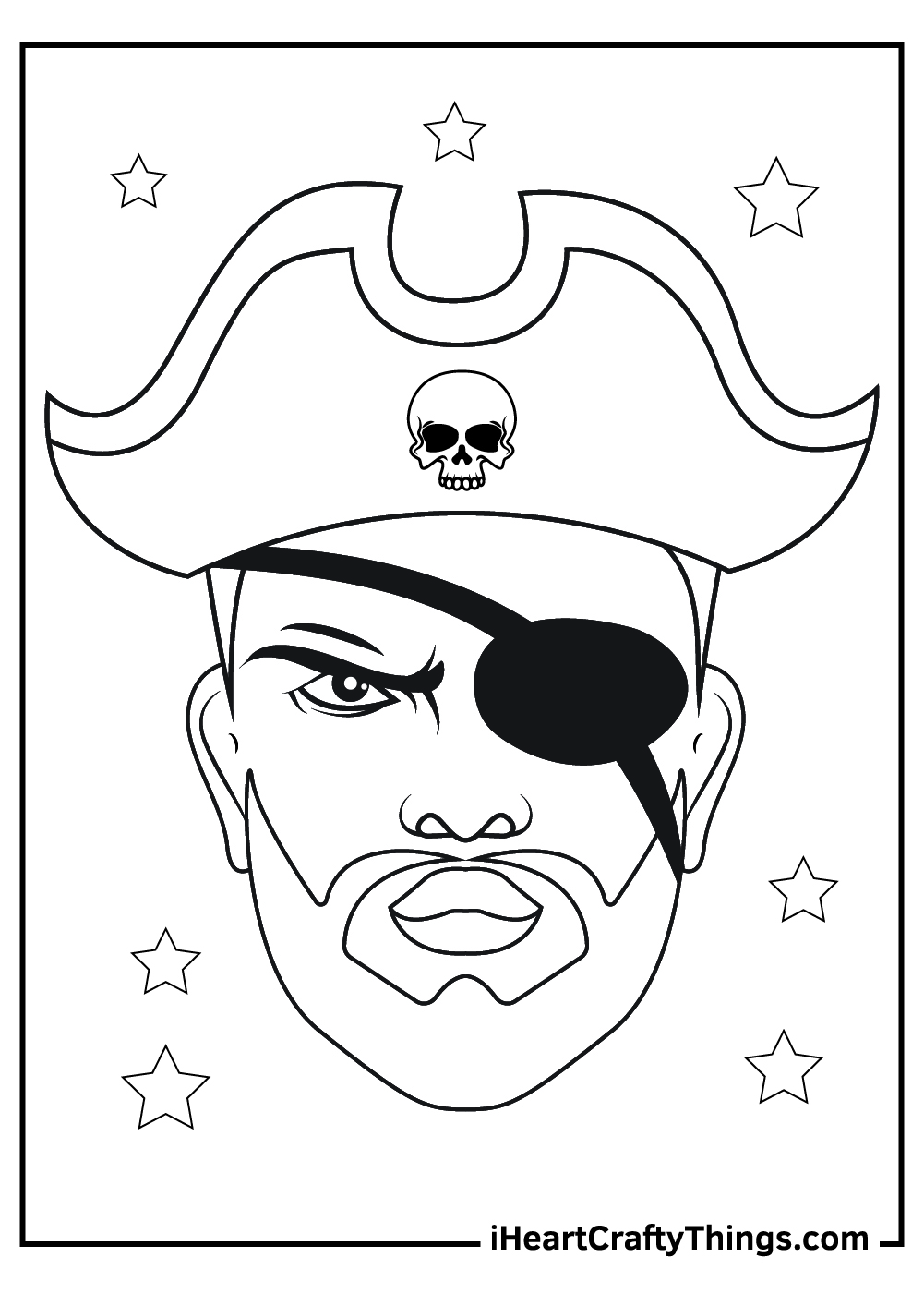 pirates coloring pages printable sheets