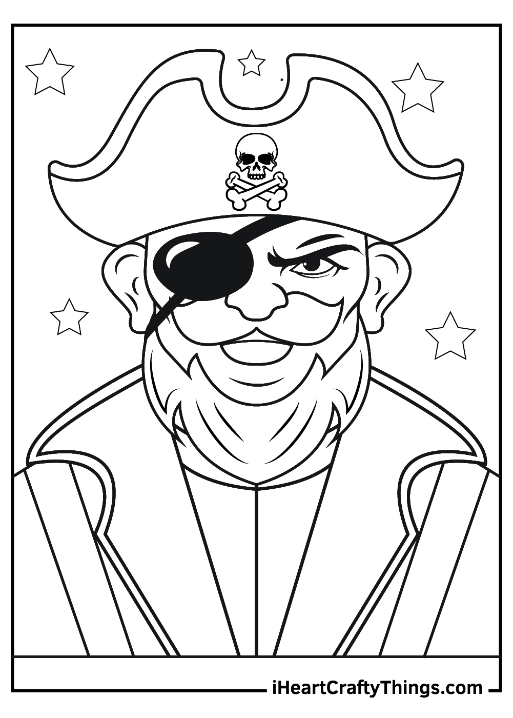old pirate coloring pages free download