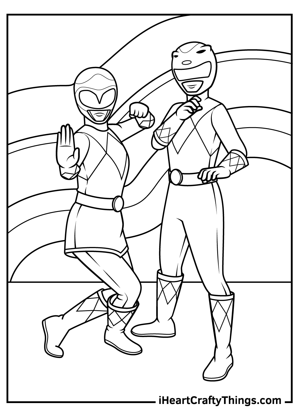 Printable Power Rangers Coloring Pages Updated 18
