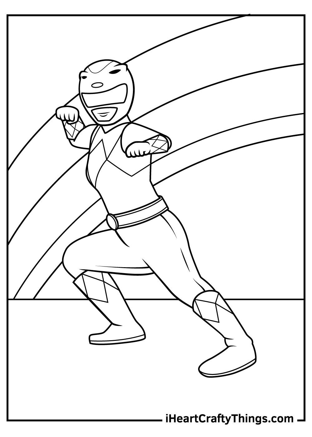 black and white power rangers coloring pages printable