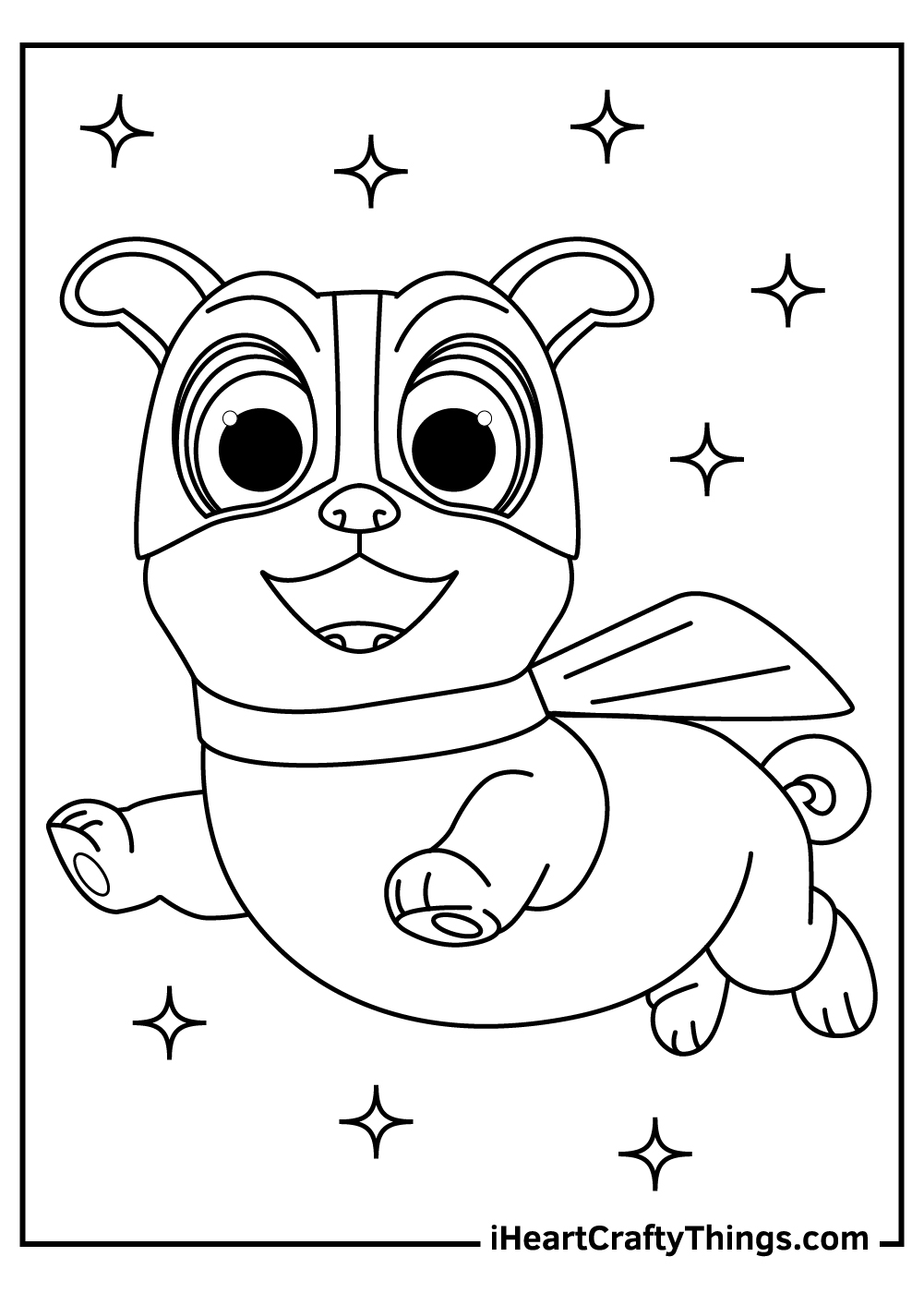 disney puppy dog pals coloring pages free pdf
