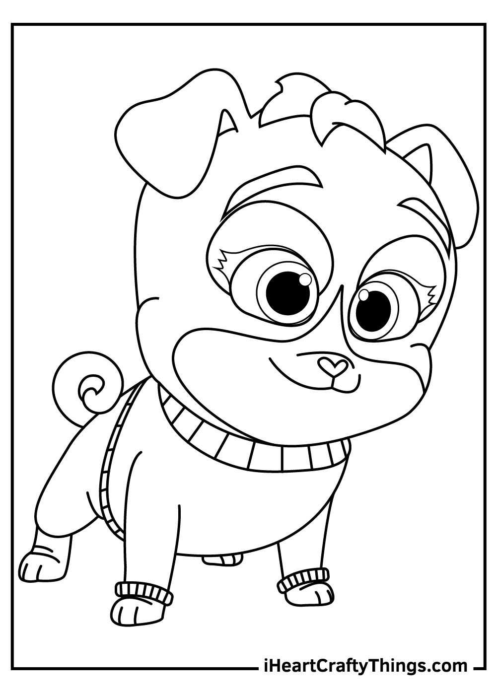 puppy dog pals coloring pages arf free download