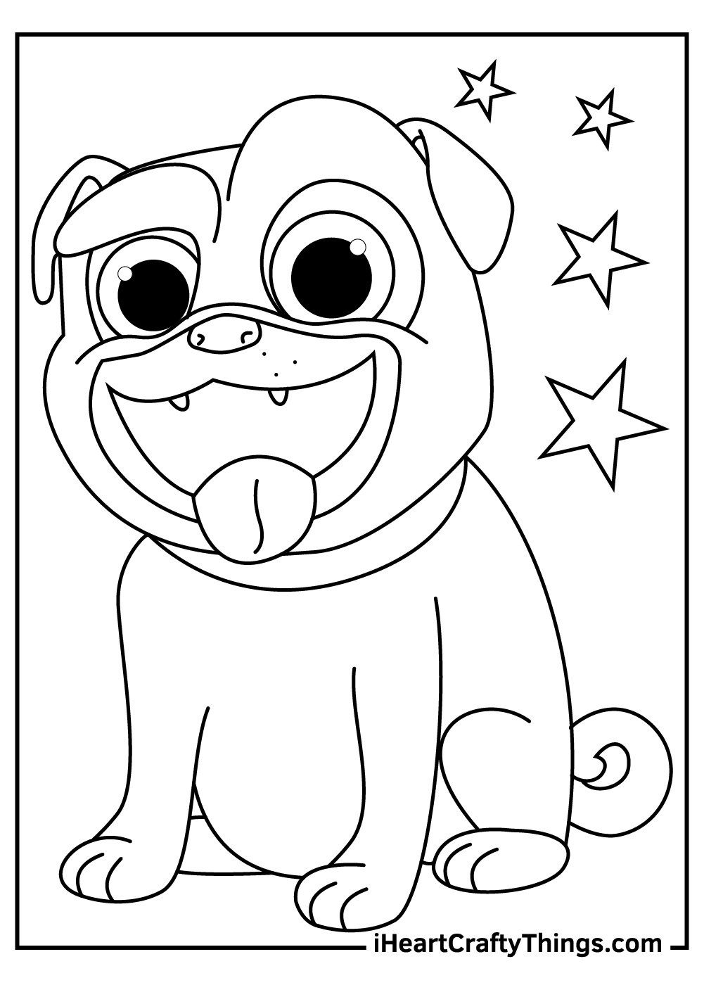 cute puppy dog pals coloring pages free printable