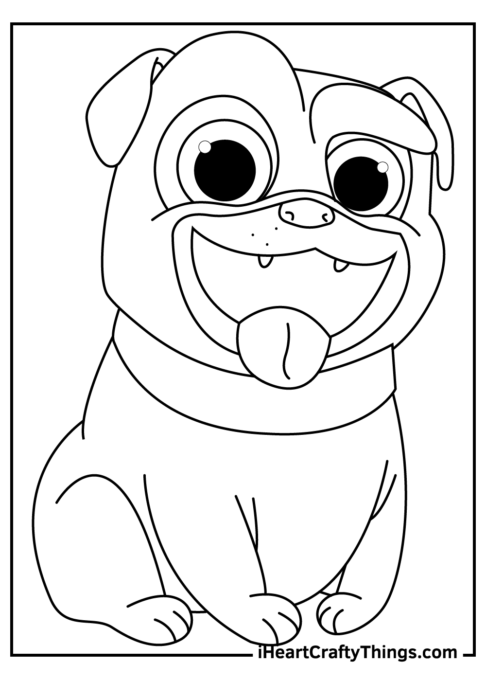 disney junior puppy dog pals coloring pages free print
