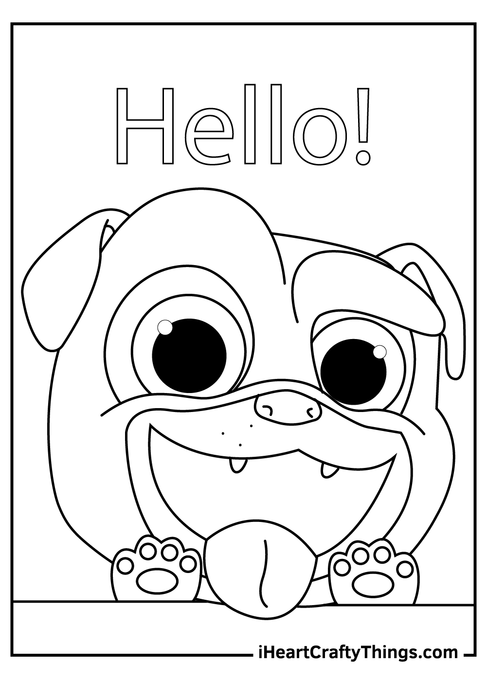 disney junior puppy dog pals coloring pages