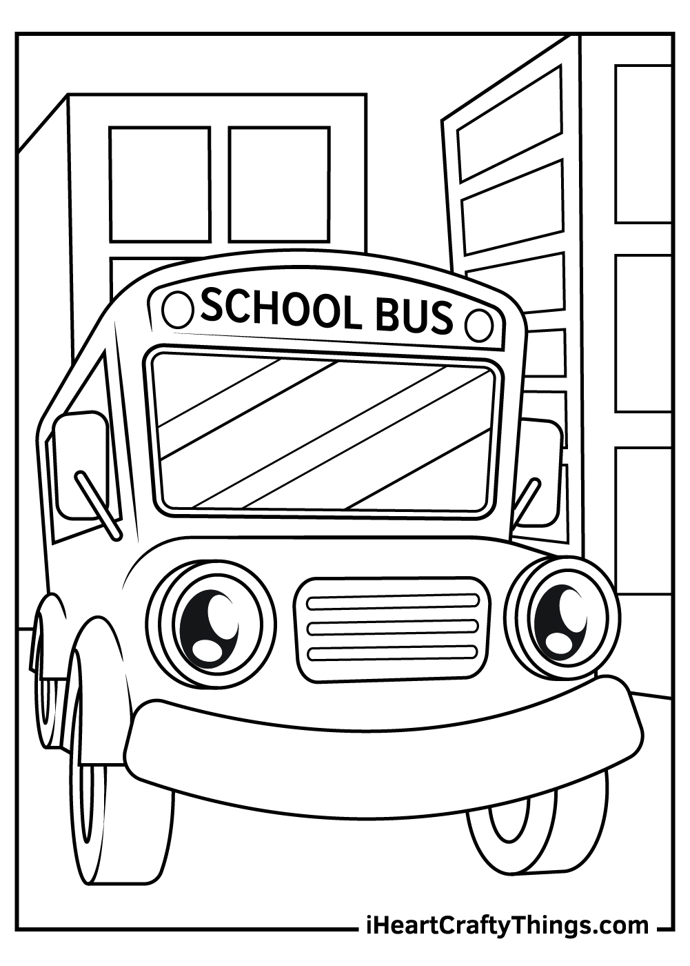 free magic school bus coloring pages
