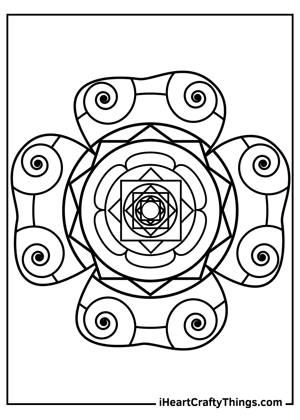 adult shamrock coloring pages