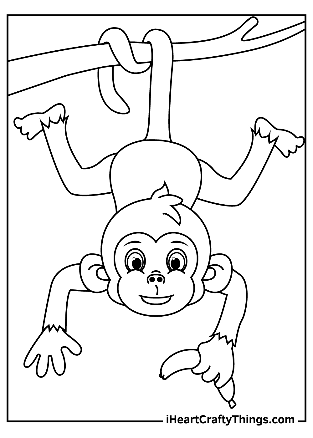 simple animal coloring pages free printable