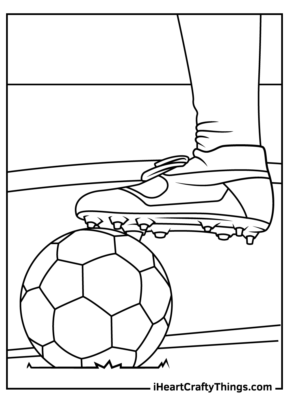 Printable Soccer Coloring Pages Updated 2021
