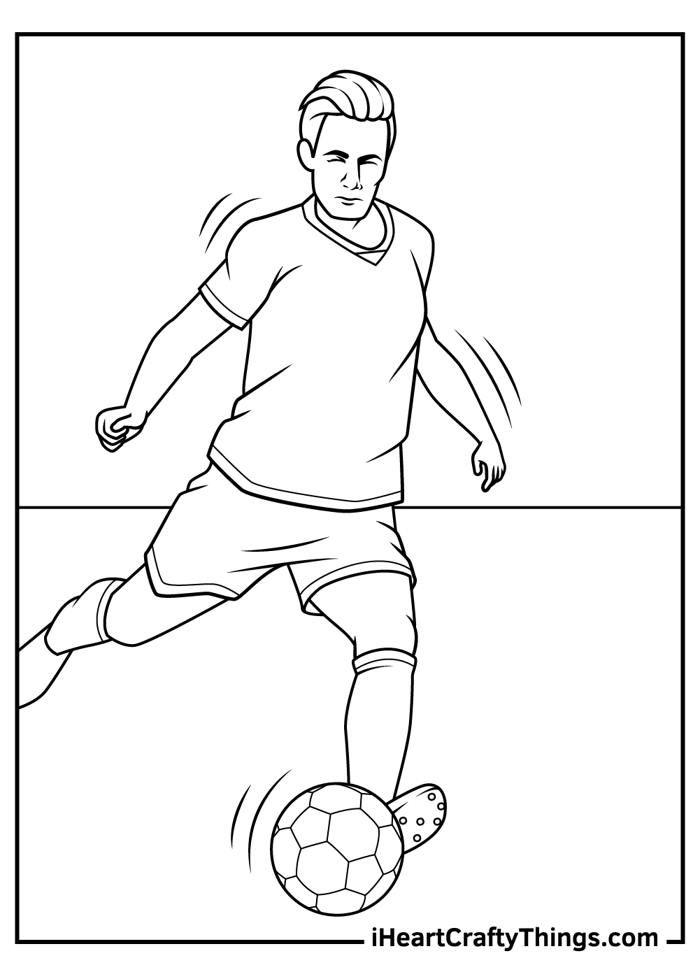 soccer coloring pages kids download