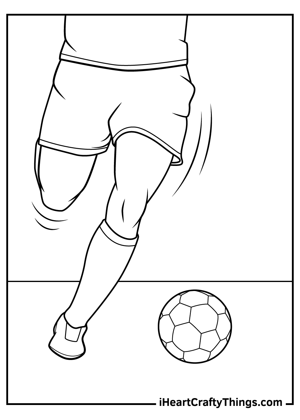 soccer coloring pages for boys to print out