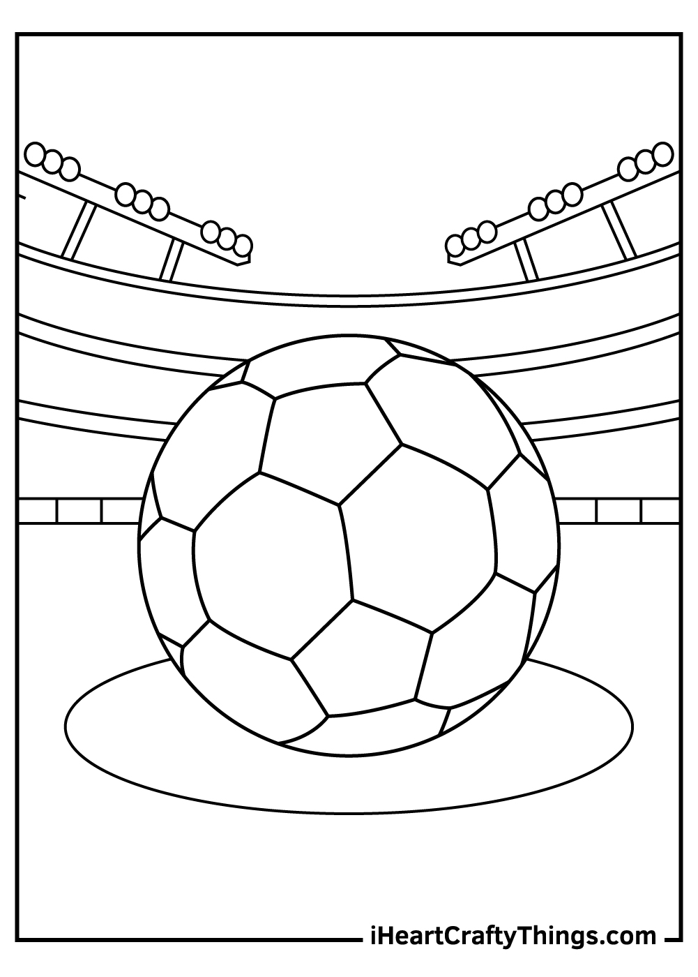 i love soccer coloring pages pdf
