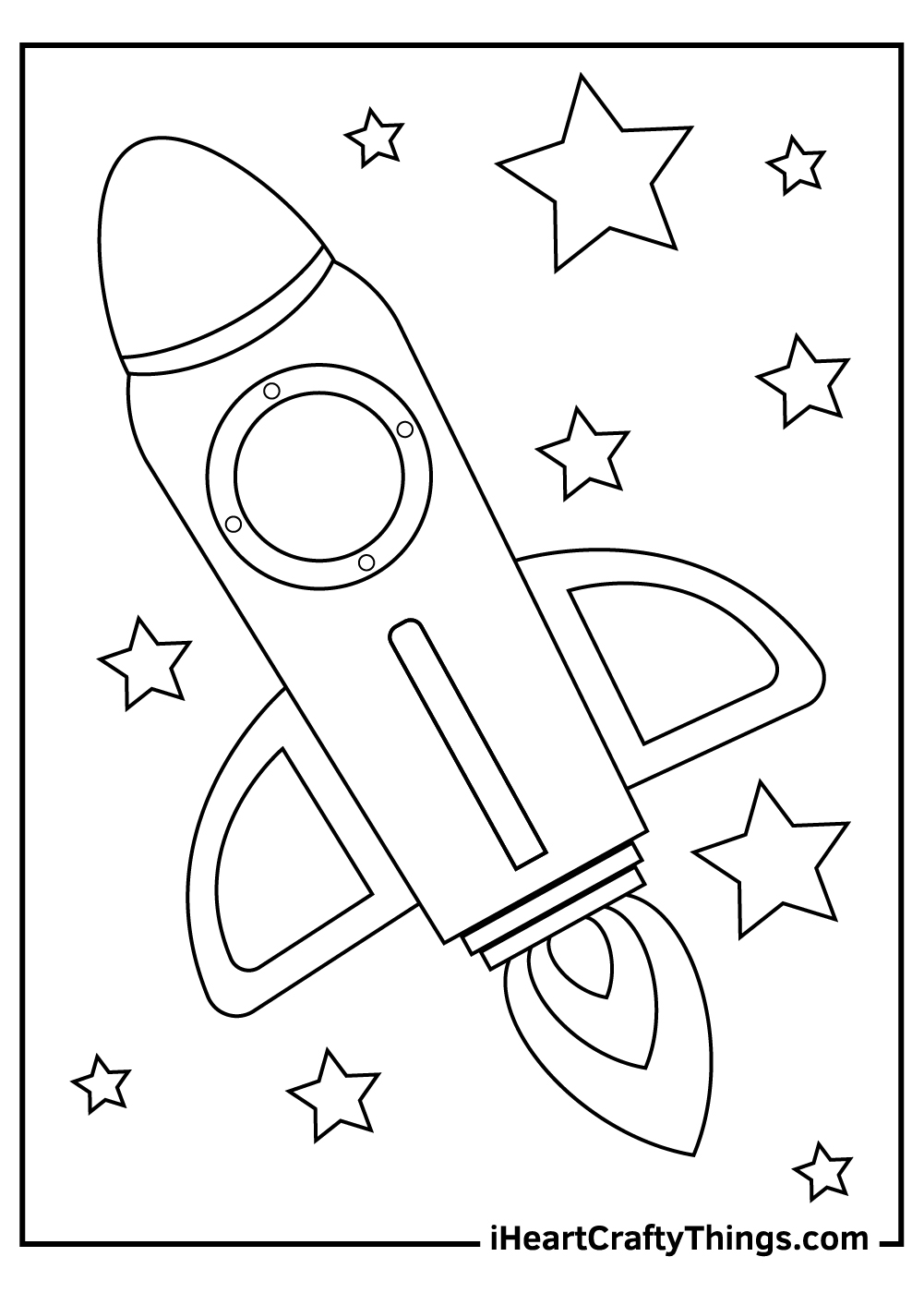 bounty hunter spaceship coloring pages