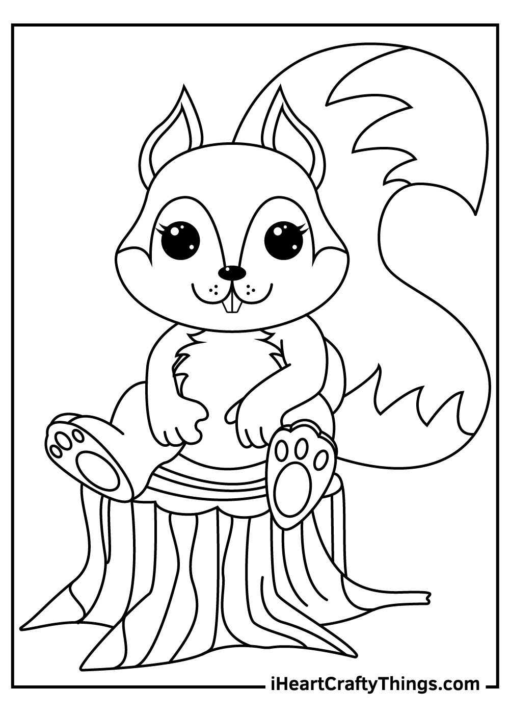 chip and dale squirrels coloring pages free download