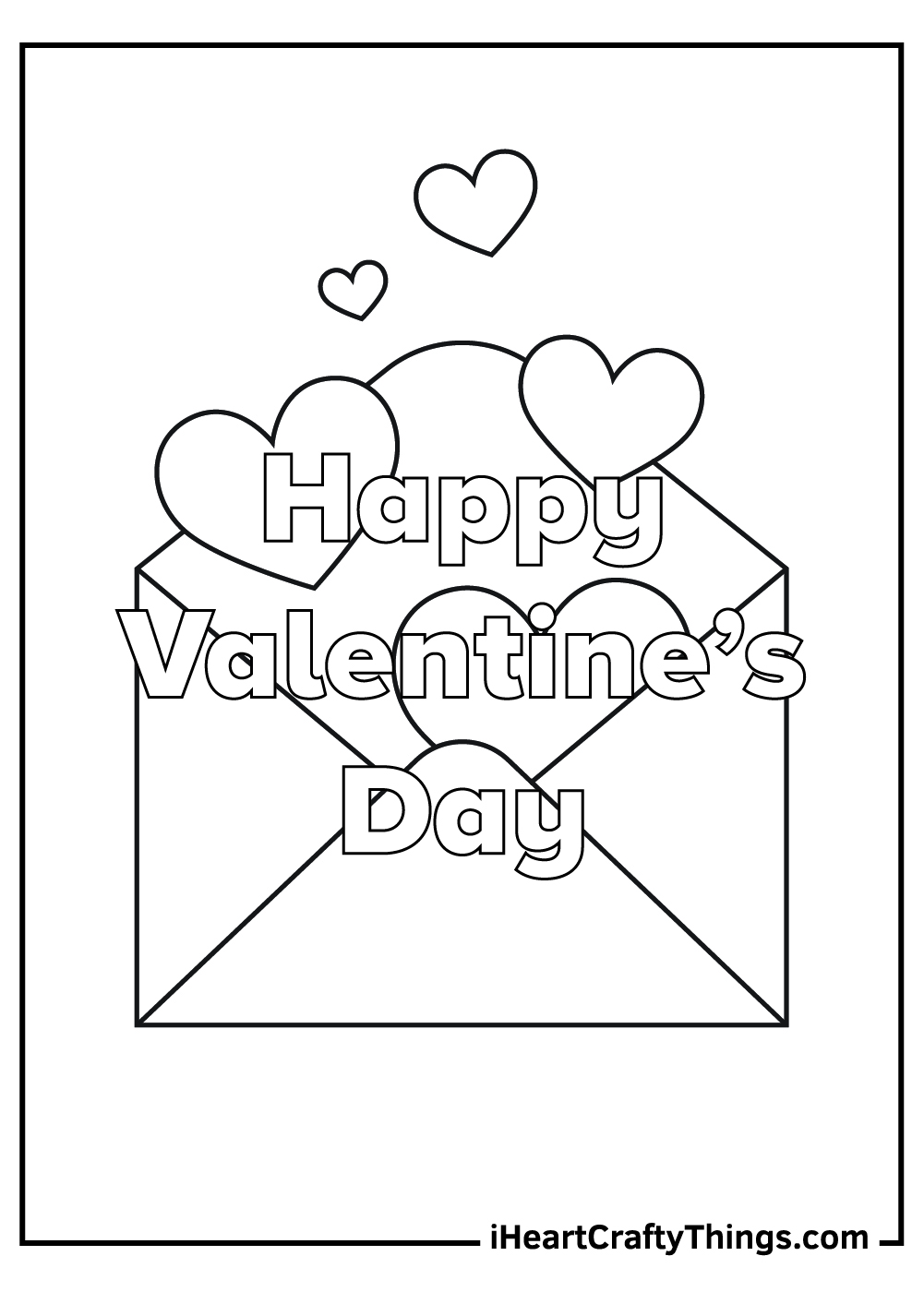 valentine's coloring pages for mom