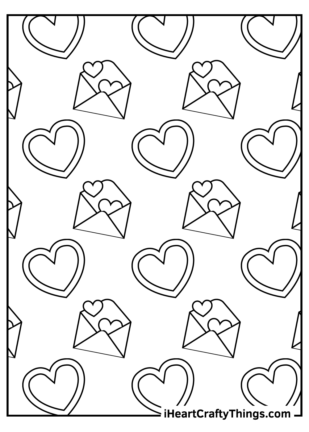 adult valentine's coloring pages