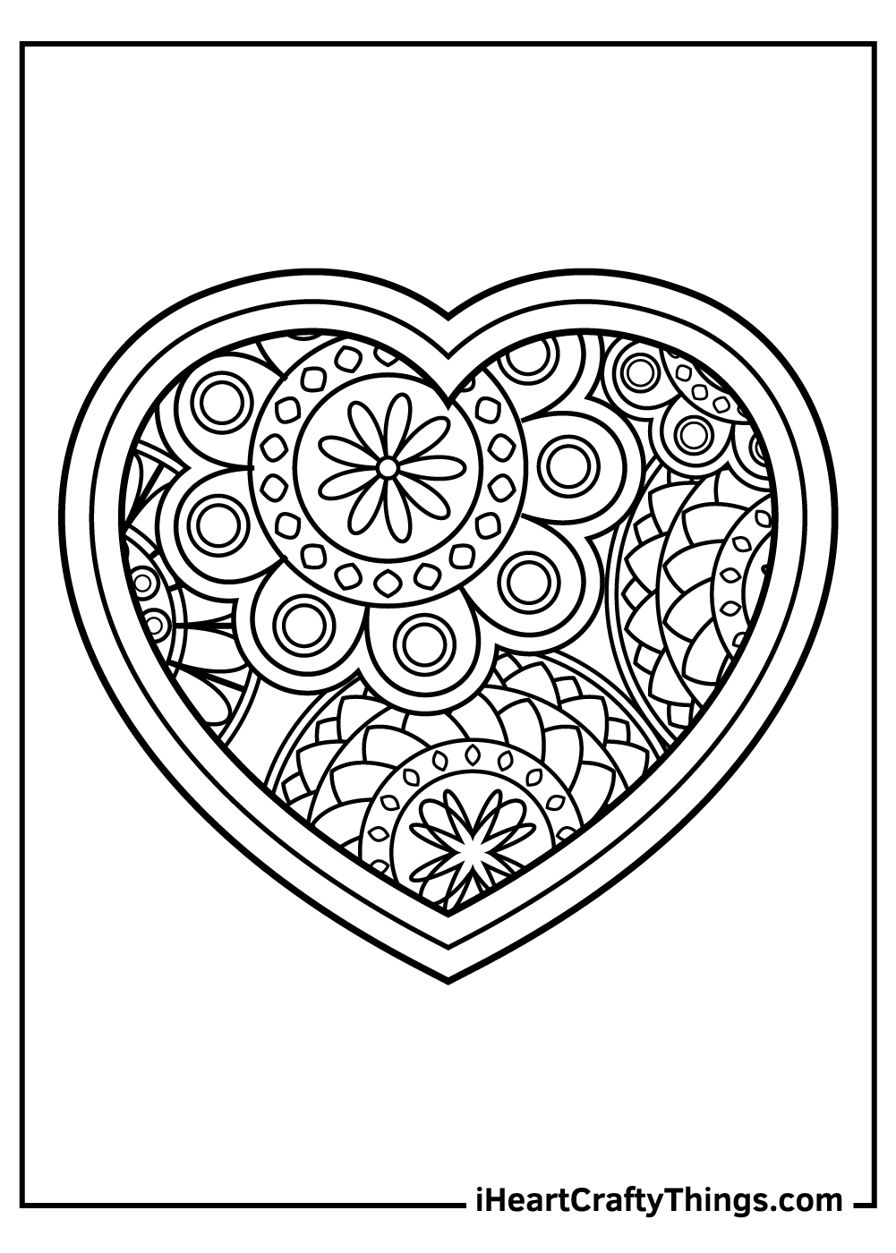 free adult valentine's coloring pages
