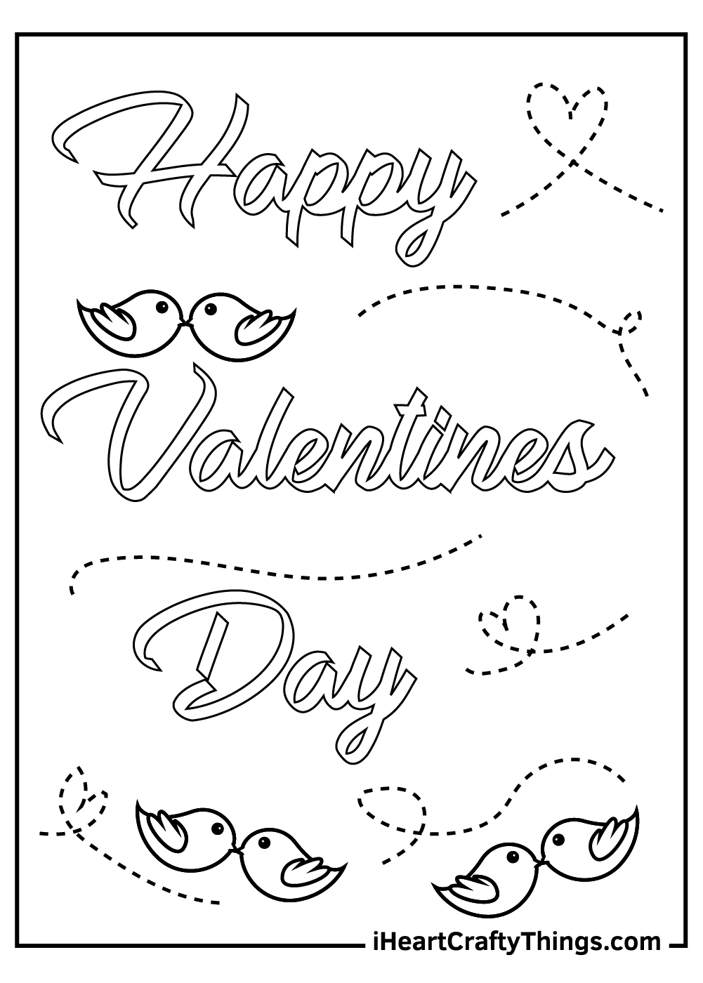 valentine's coloring pages for boys