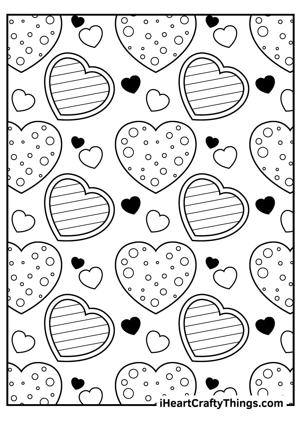 valentine's coloring pages for preschool