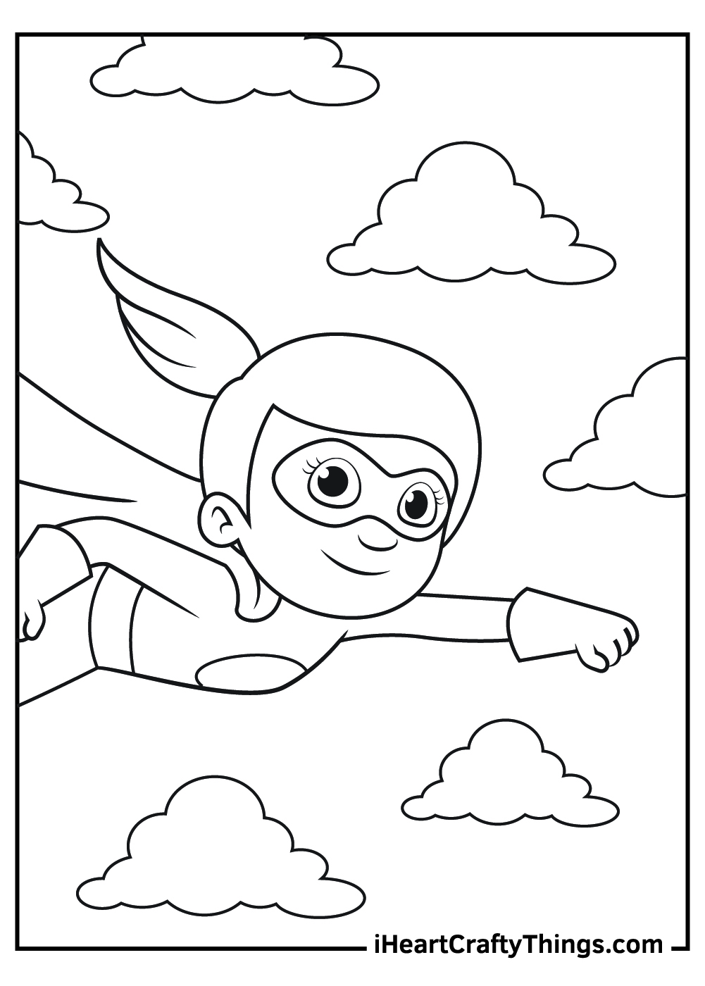 new superhero coloring pages free download