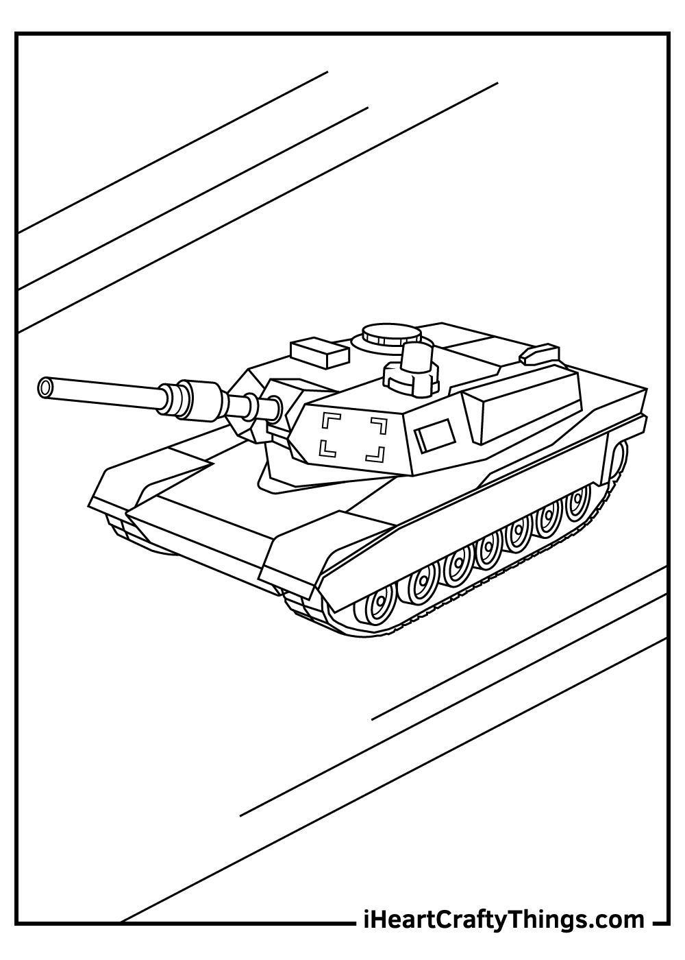 army tanks coloring pages free printables