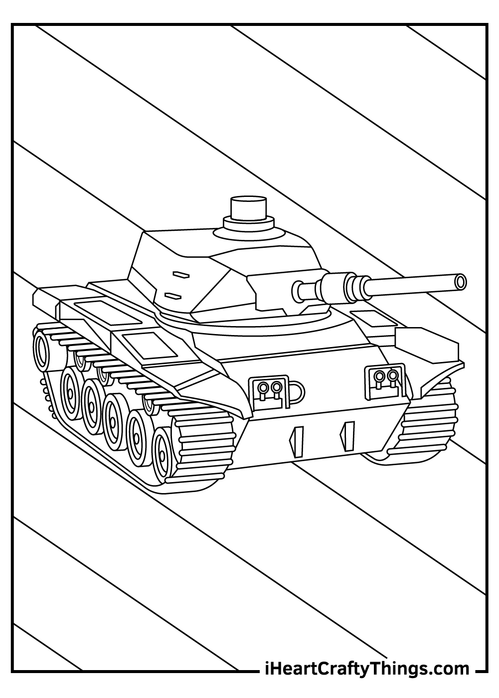 black and white sheets army tanks coloring pages