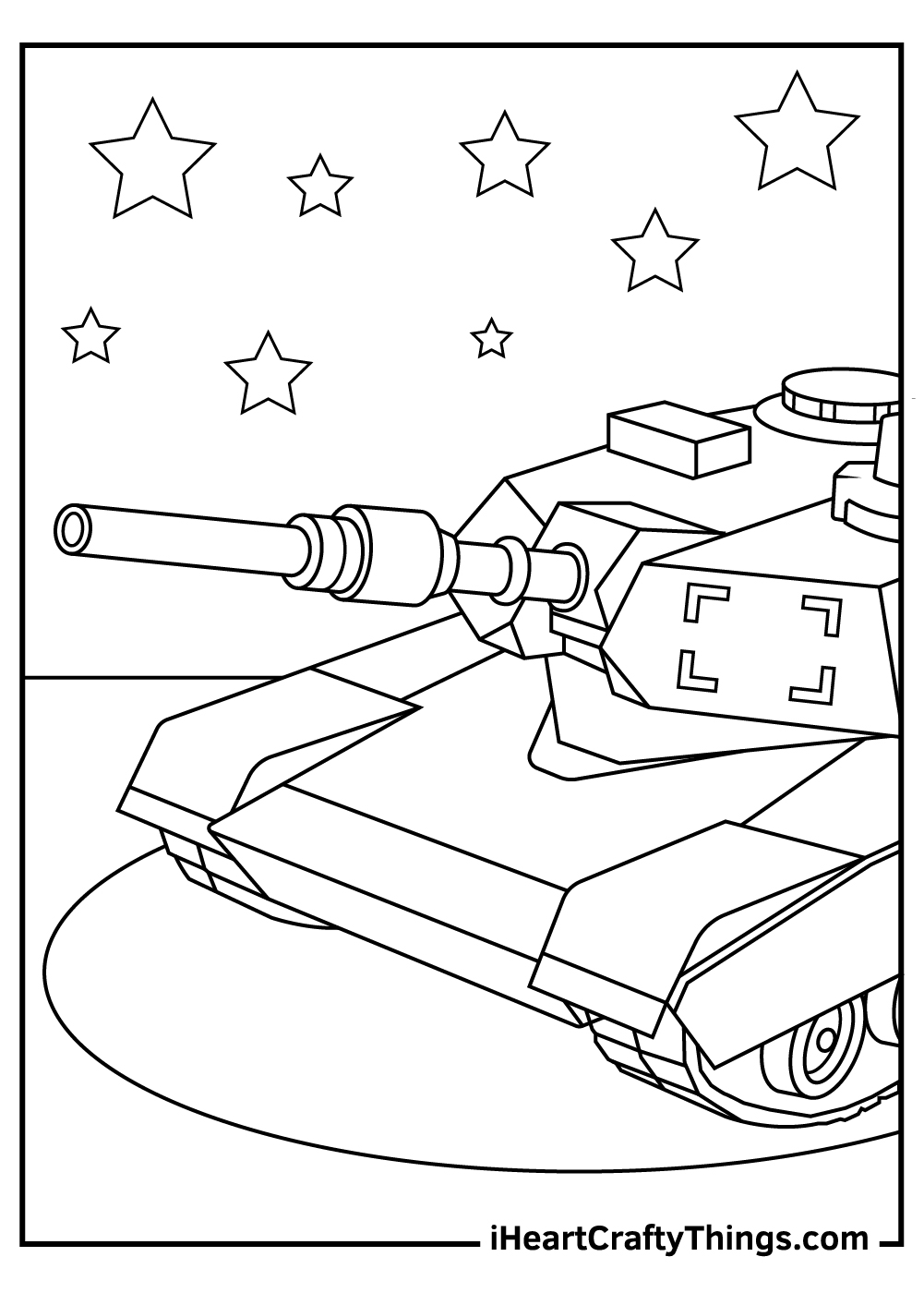 cool tanks coloring pages free download