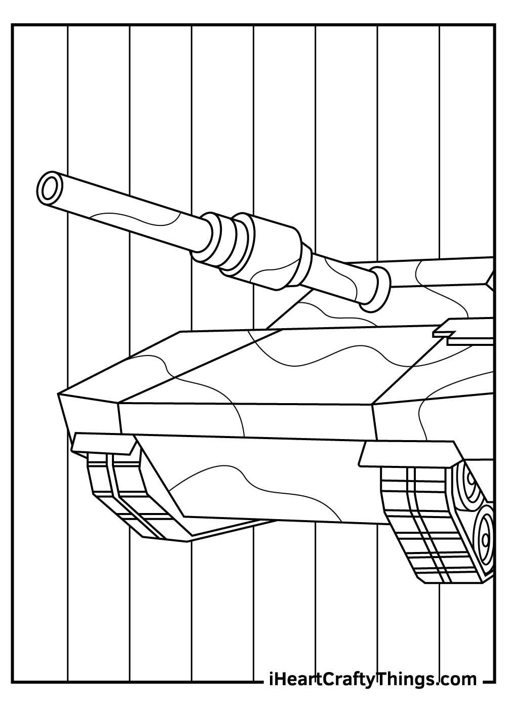 big army tanks coloring sheets free print out