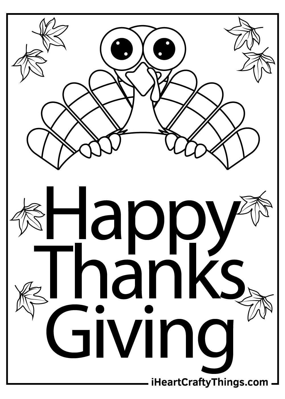 turkey free printable thanksgiving coloring pages
