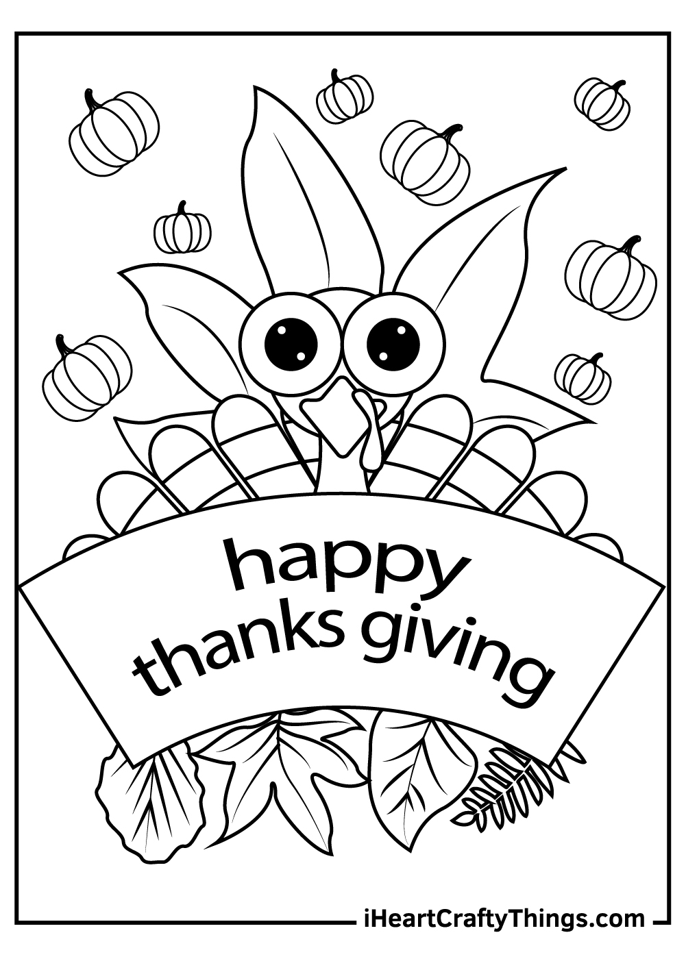 turkey thanksgiving coloring pages free download