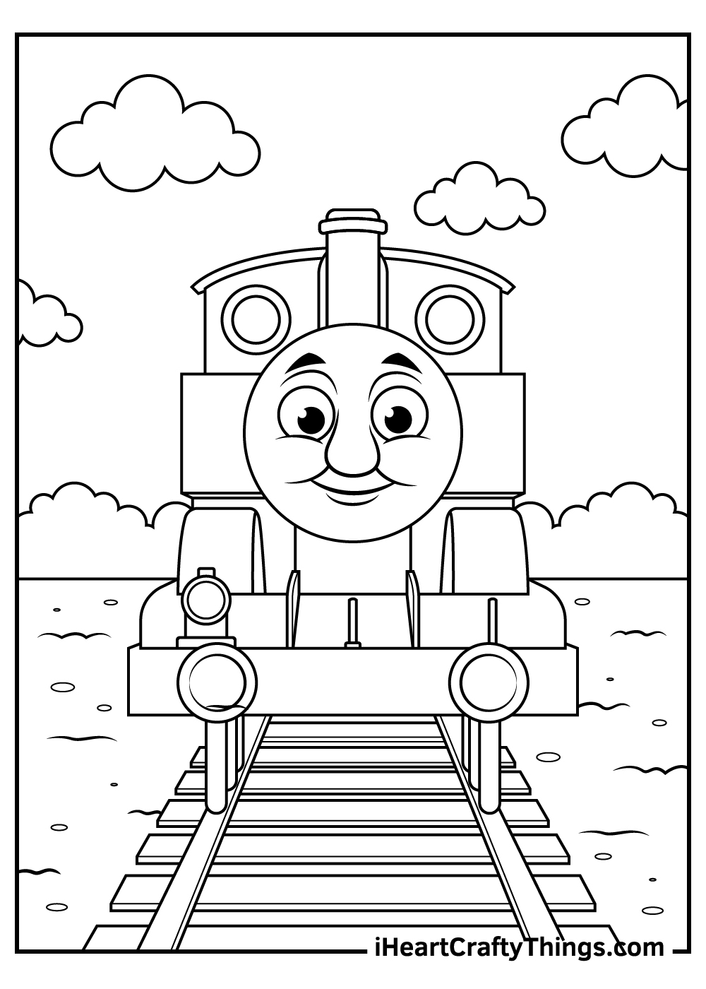 printable thomas the train coloring pages for kids