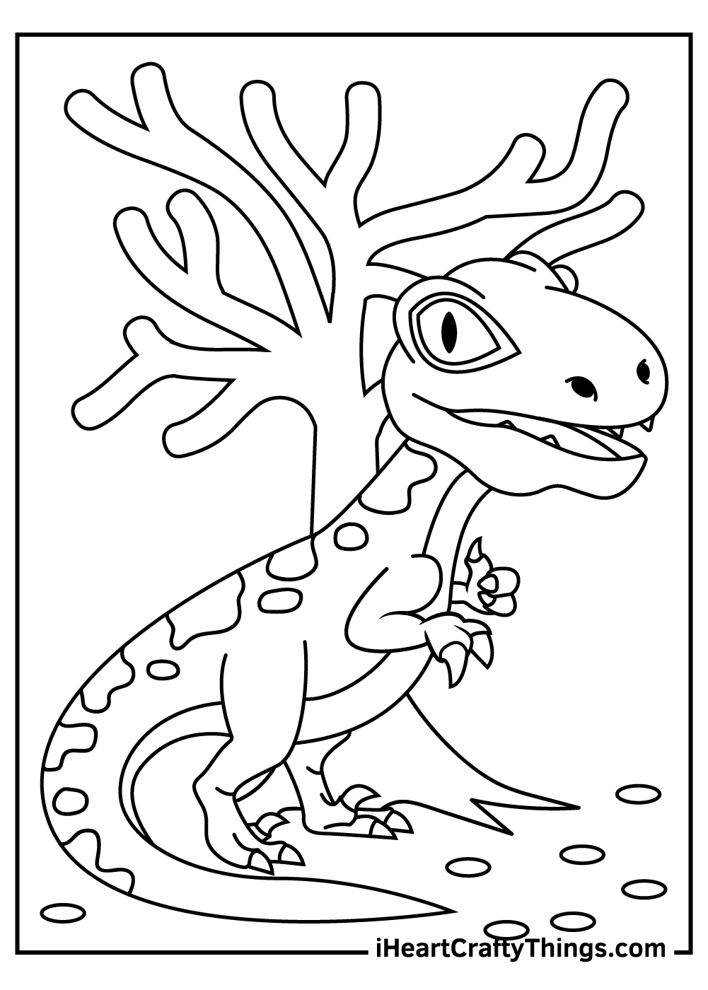easy velociraptor coloring pages for kids