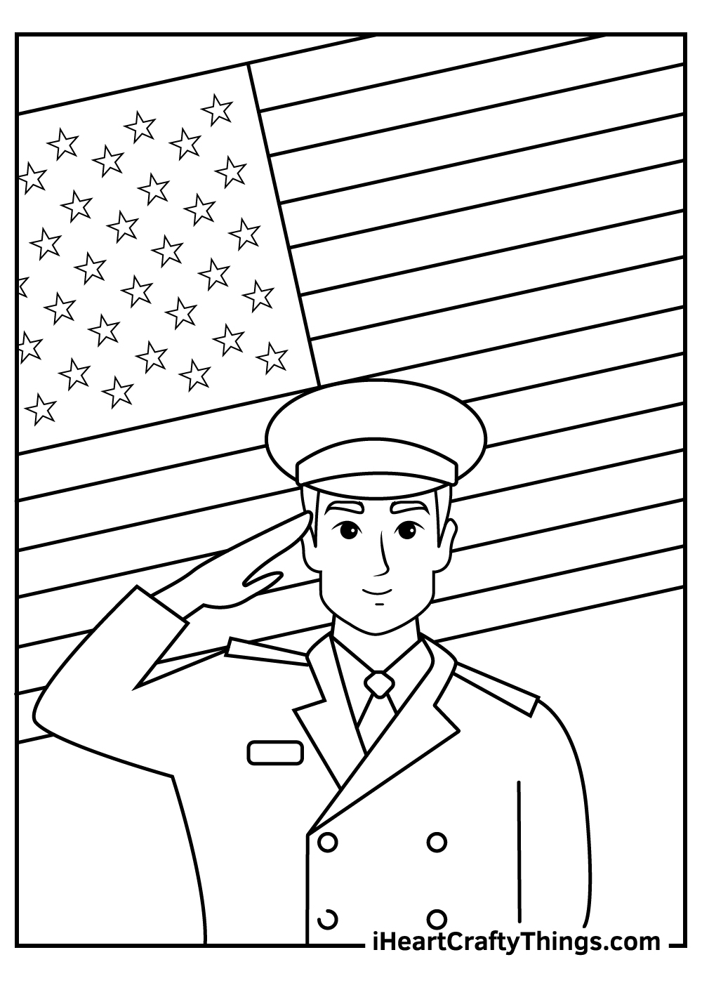 Veteran's Day Coloring Pages free download