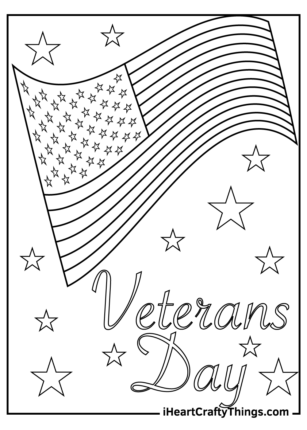Veteran's Day Coloring Pages for adults