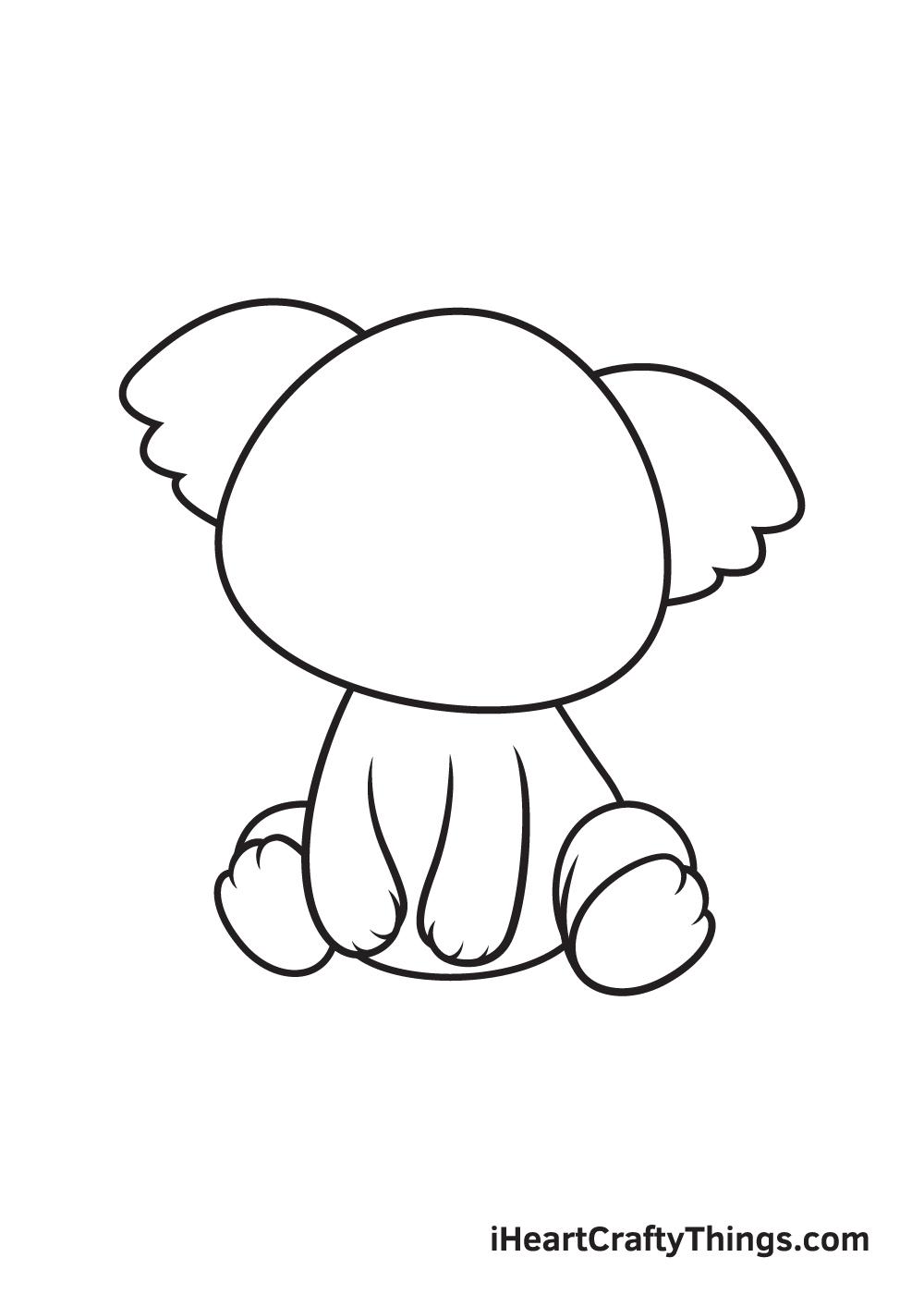animals drawing step 6