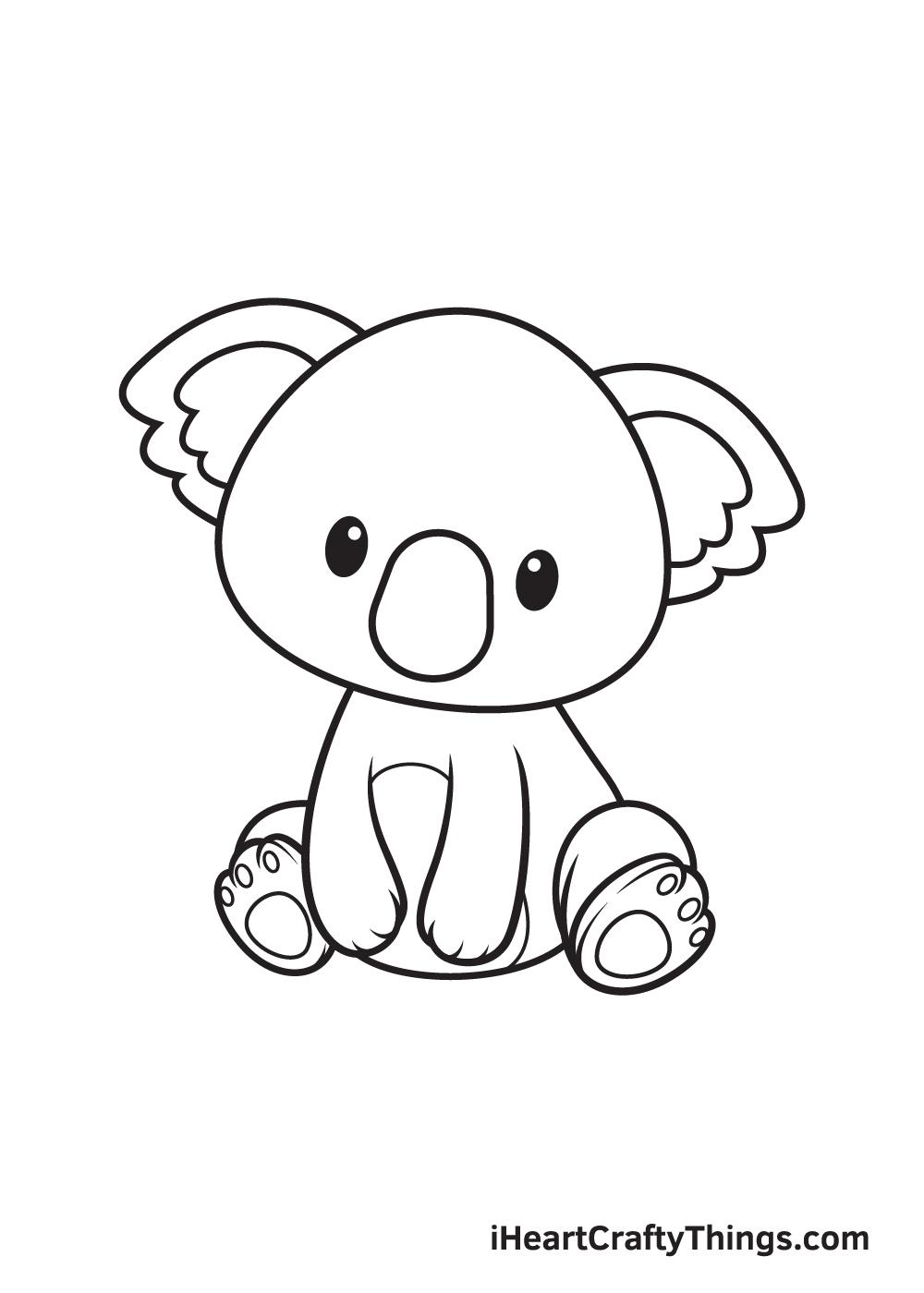 animals drawing step 9