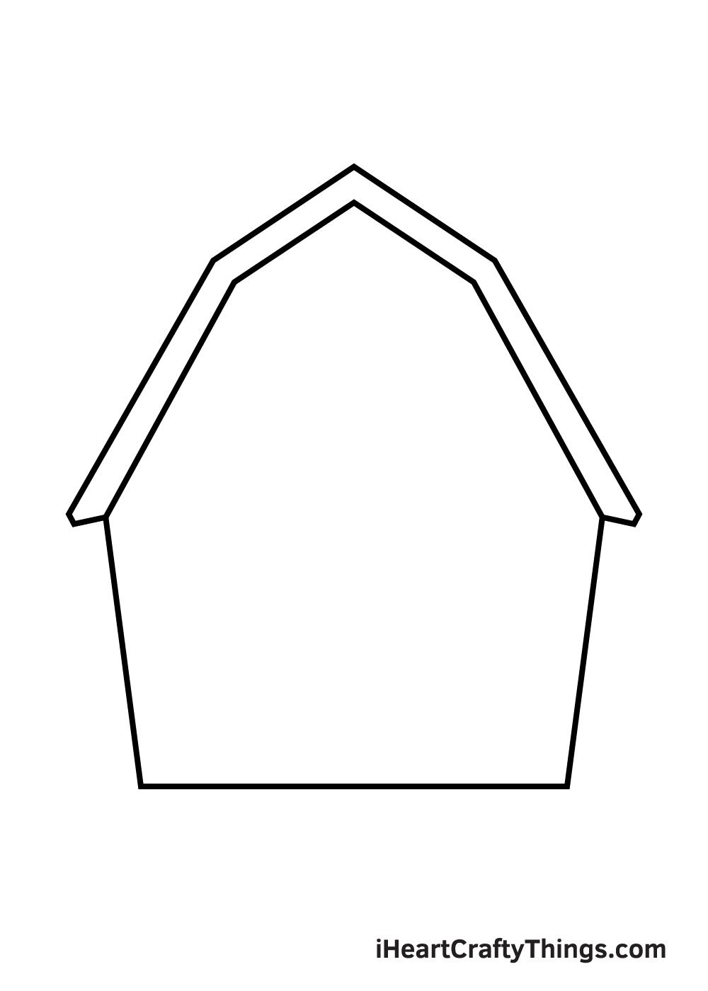 barn drawing step 3