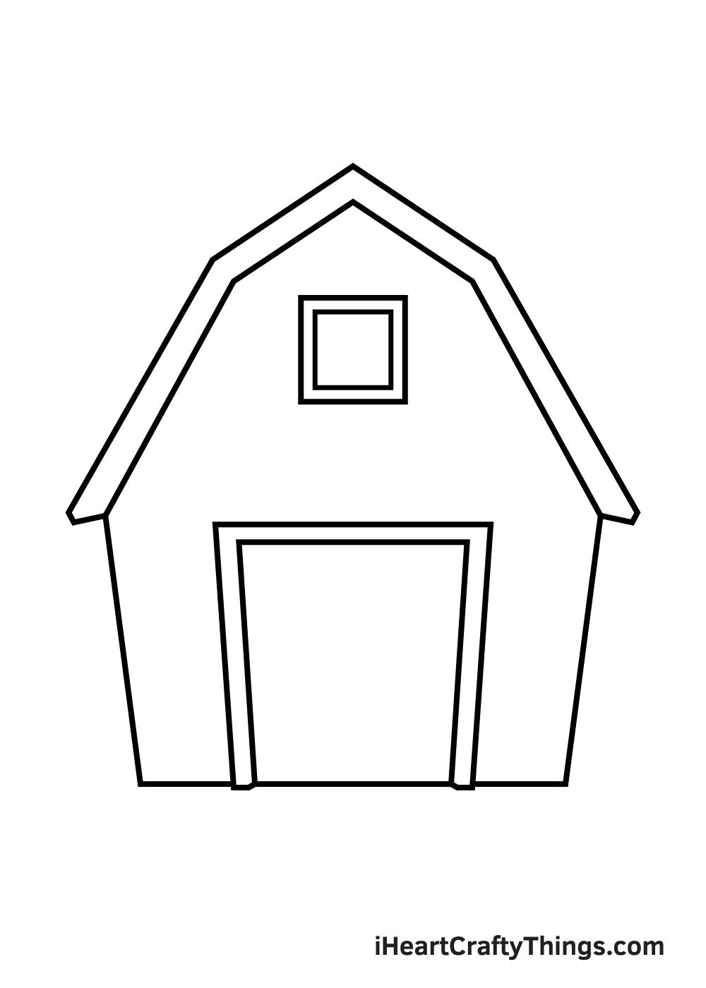 barn drawing step 5