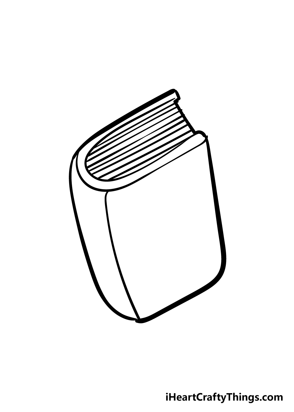 book drawing step 4