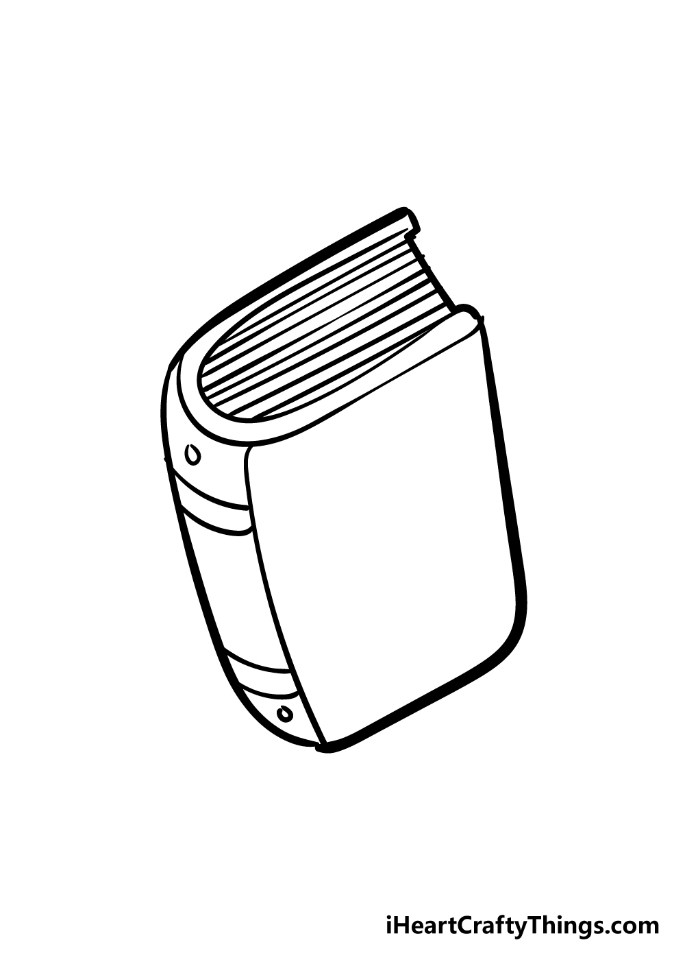 book drawing step 5