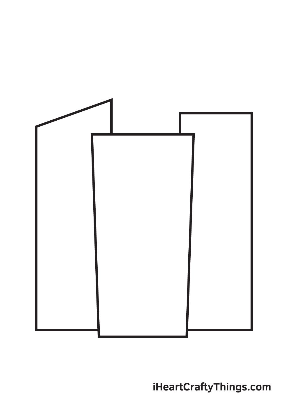 buildings drawing step 3