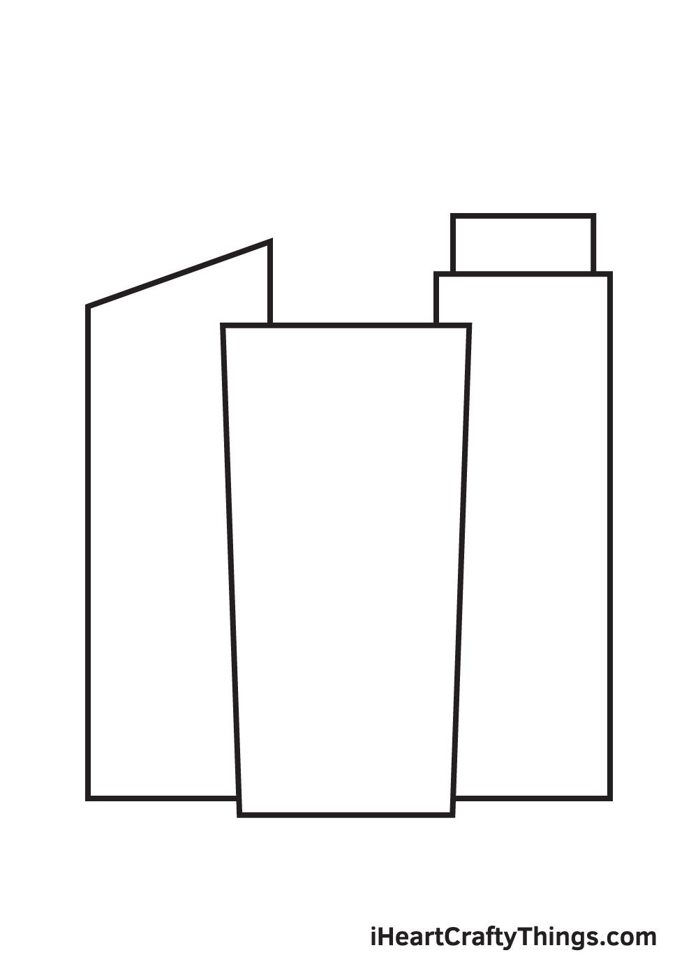 buildings drawing step 4