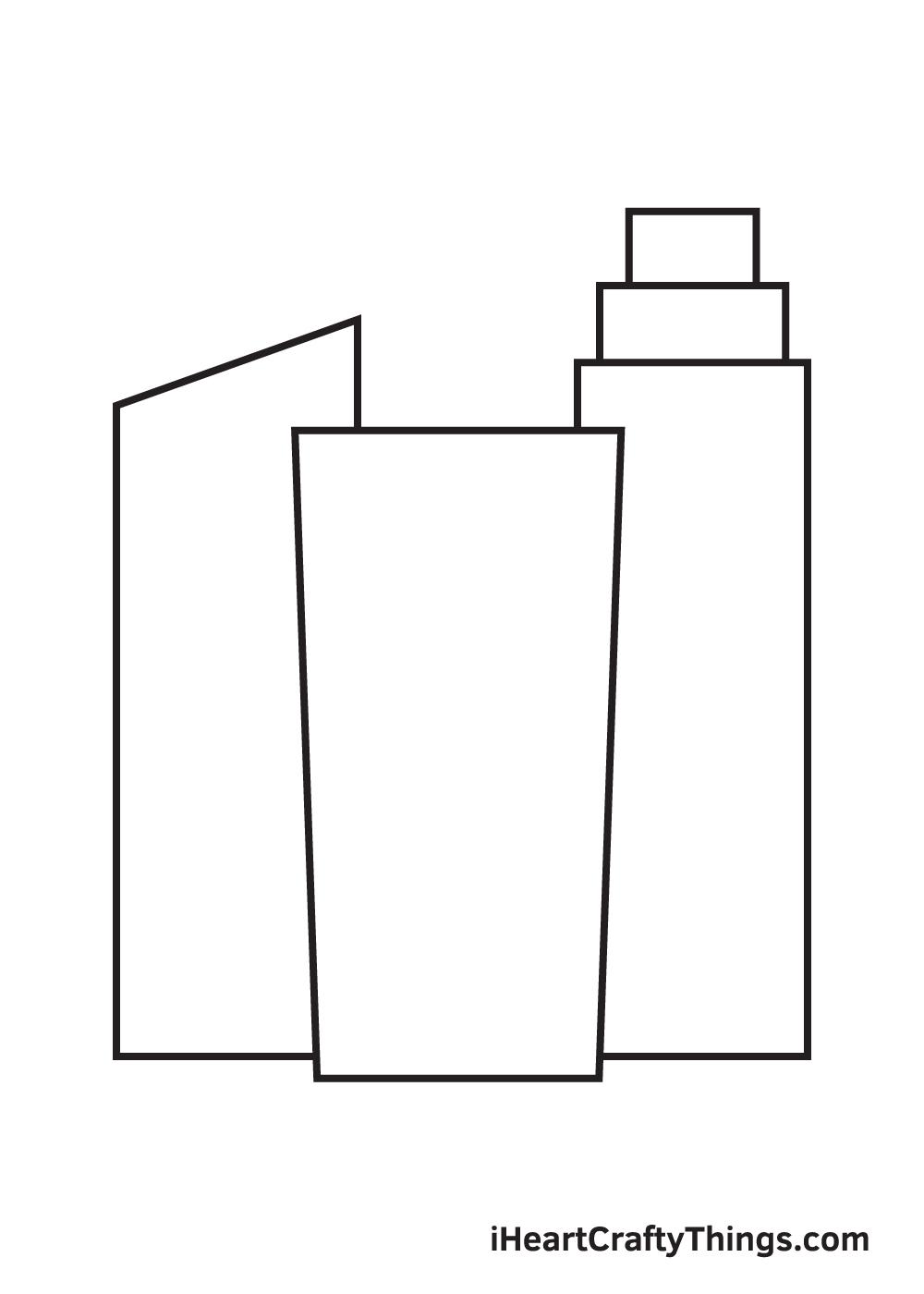 buildings drawing step 5
