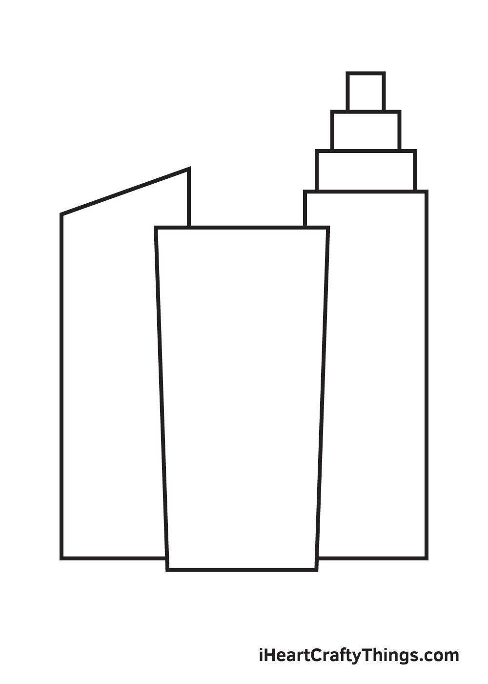 buildings drawing step 6
