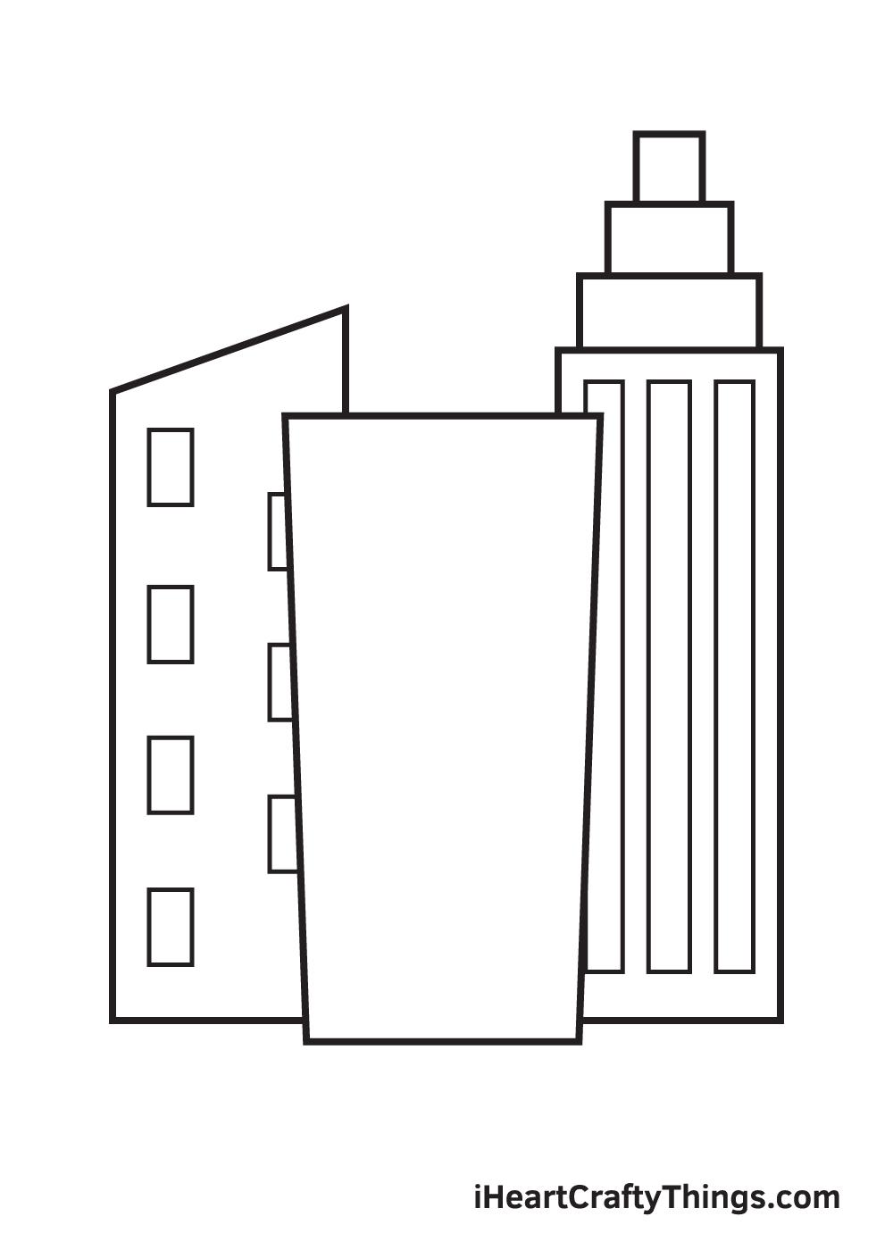 buildings drawing step 8