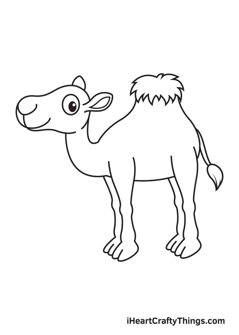 camel drawing step 9