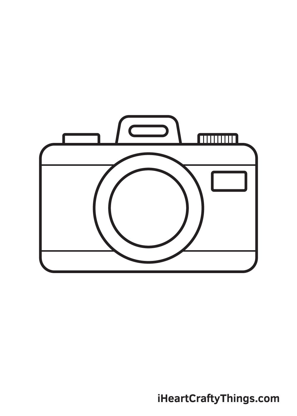 camera drawing step 9
